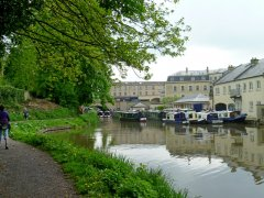 Kennet & Avon Canal nearing Bath