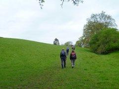 Hill near Noddings Farm